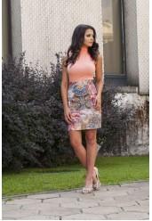 лятна пола с висока талия Monica