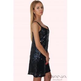 Парти рокля от паети Christina